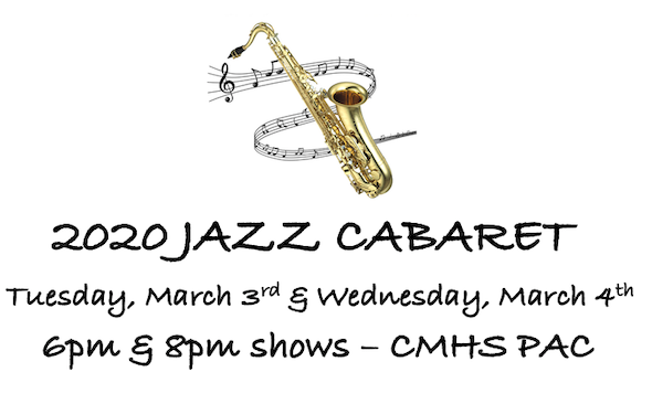 jazz cabaret march 3rd & 4th