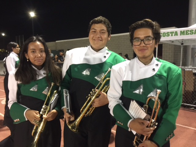 Trumpets get ready to rock