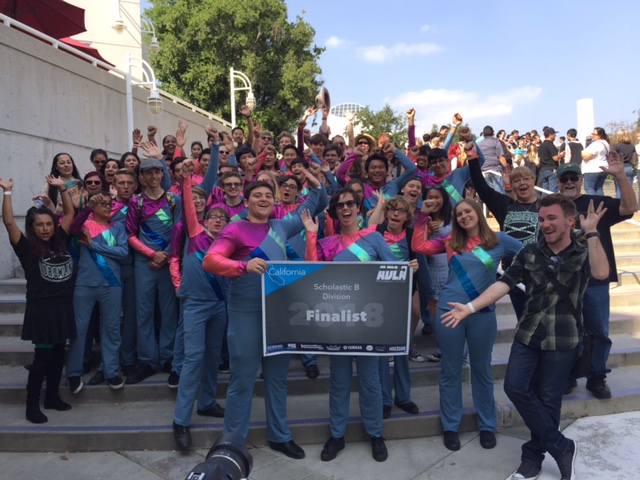 our MESA families and CMHS Drumline show unity and support after Championships