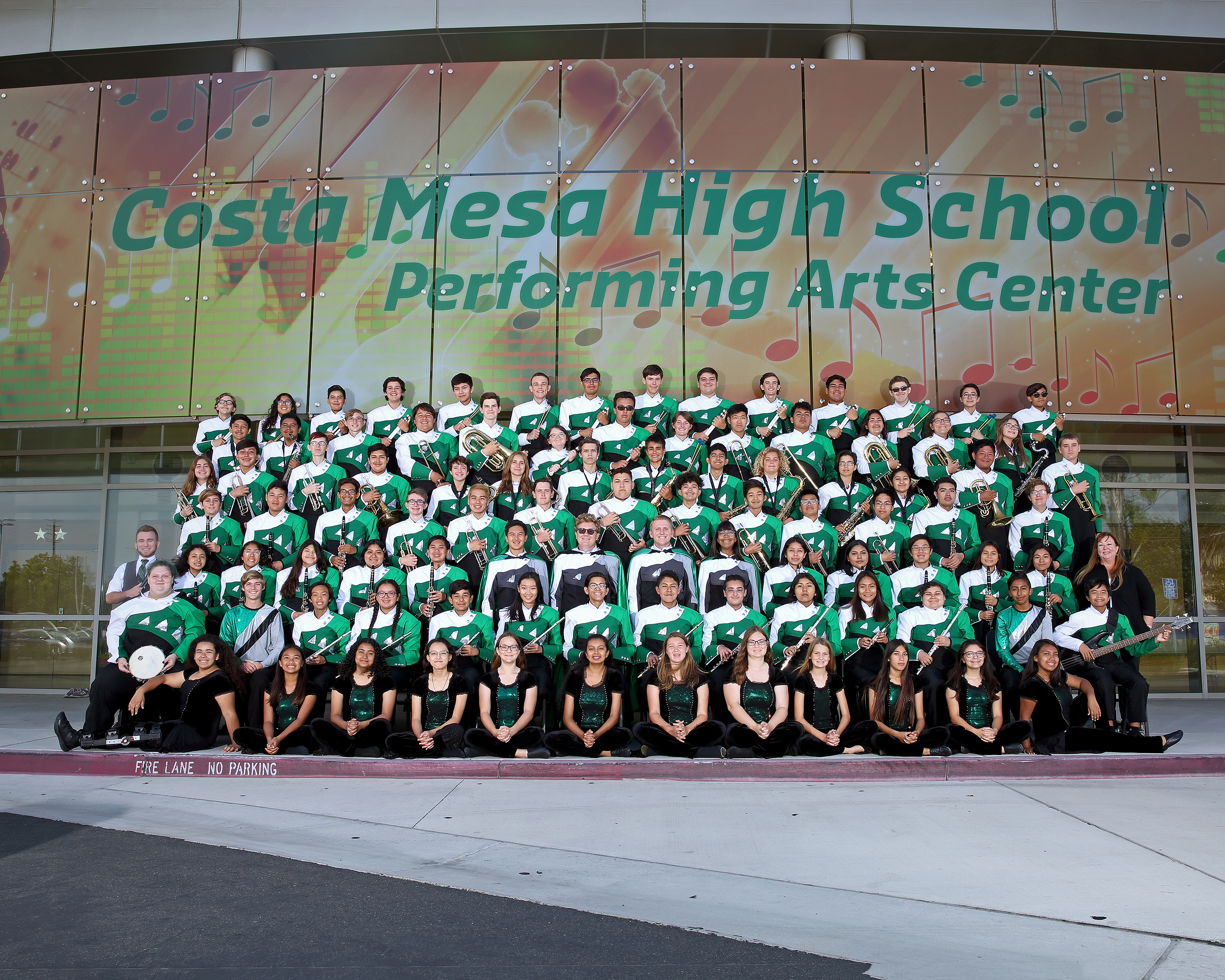 2019 CMHS Marching Band