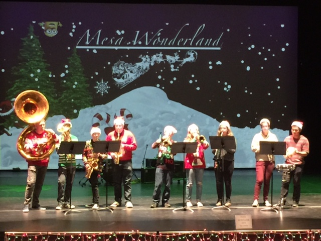 2018 Terry s Christmas Crew performs at Mesa Wonderland