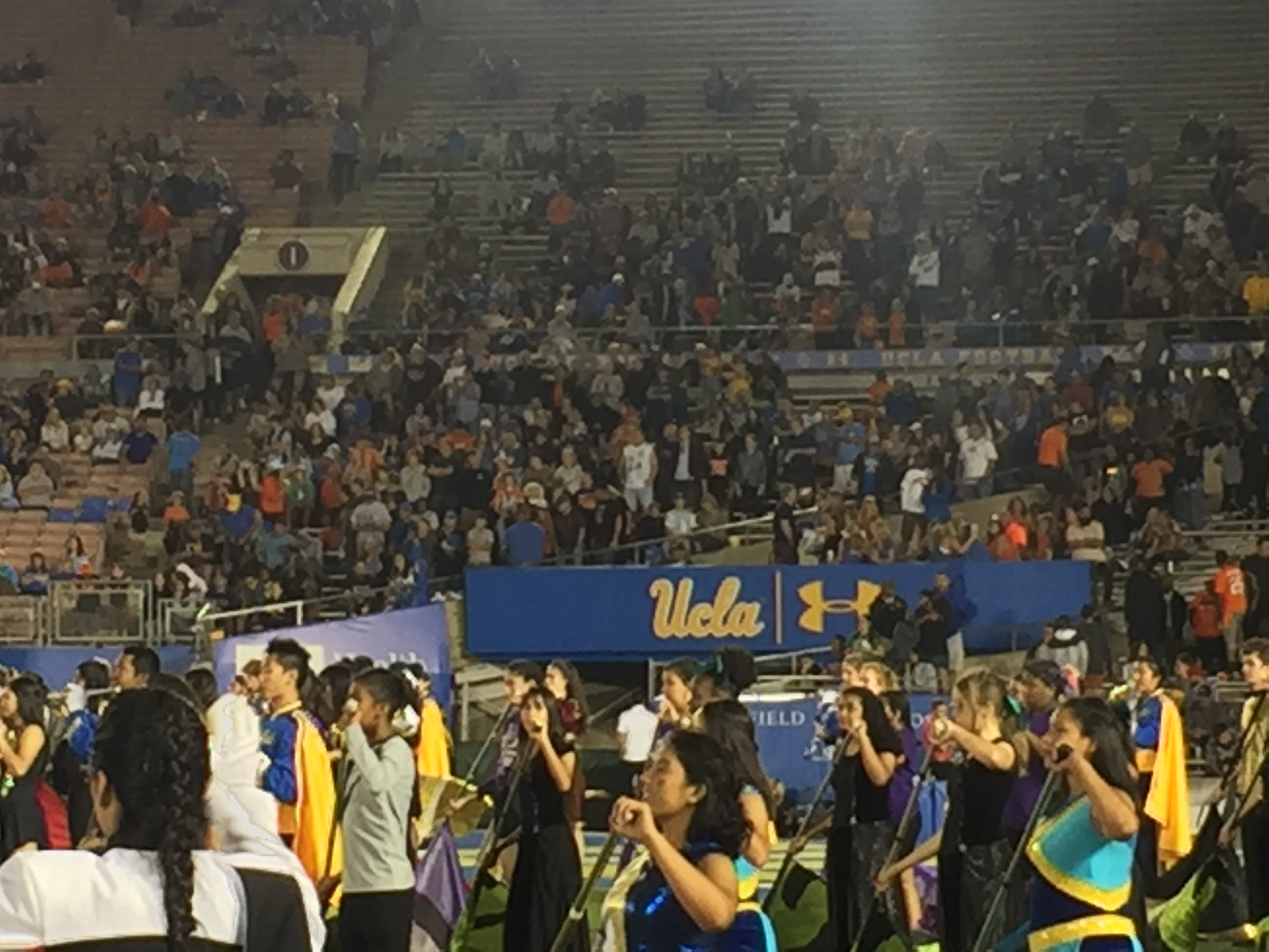 Color Guard at UCLA