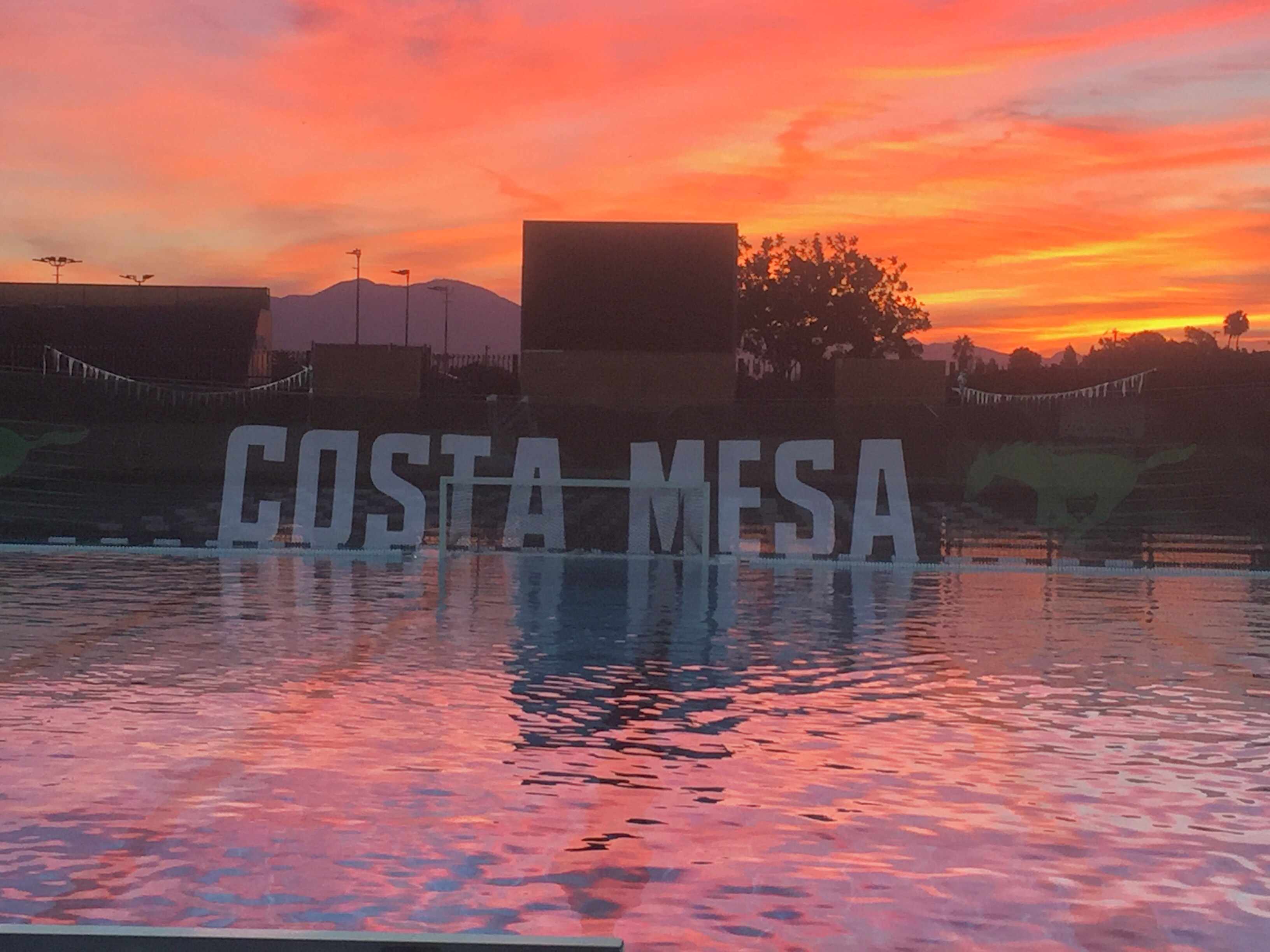 Mesa Pool at Sunrise
