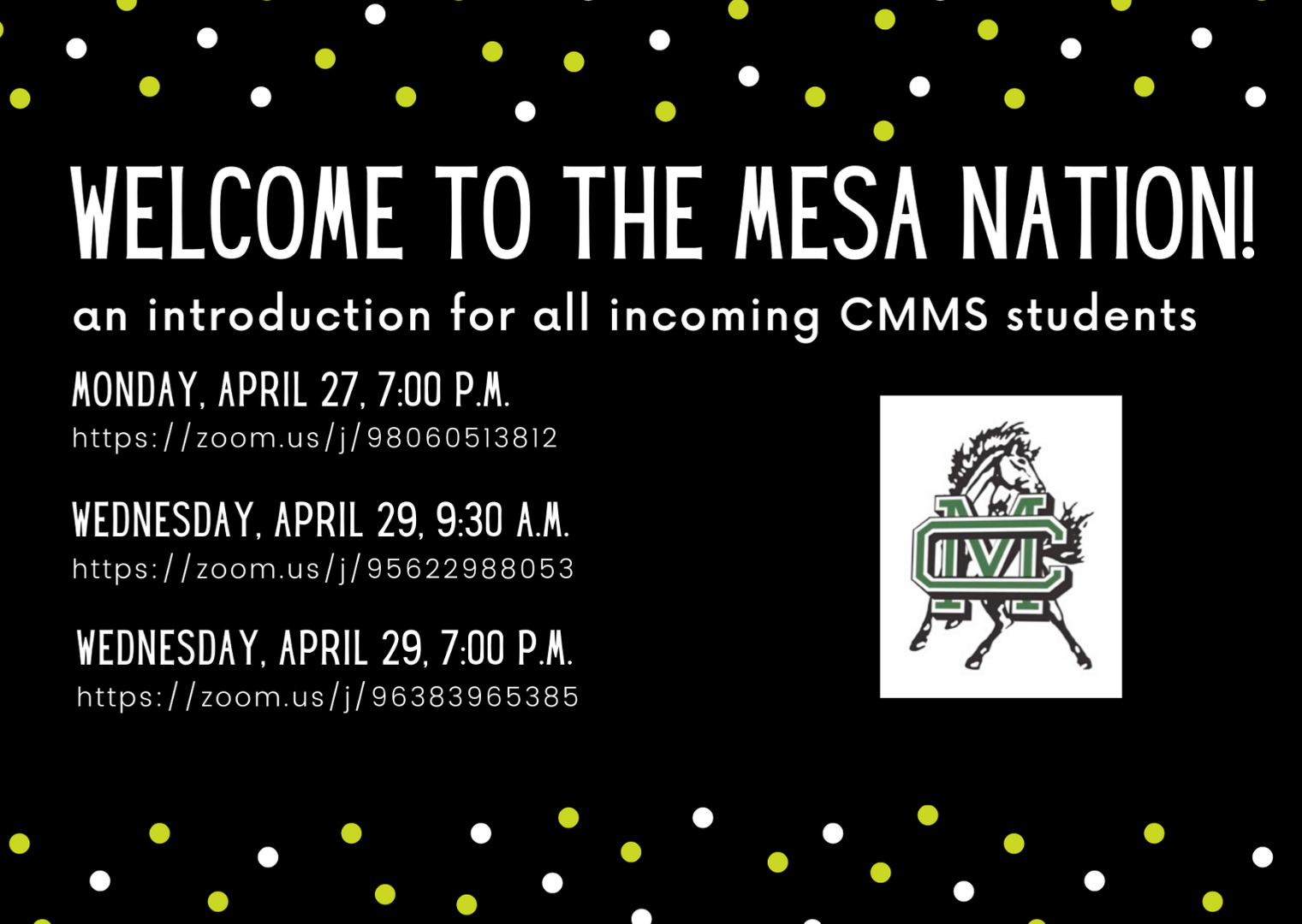 welcome to mesa nation