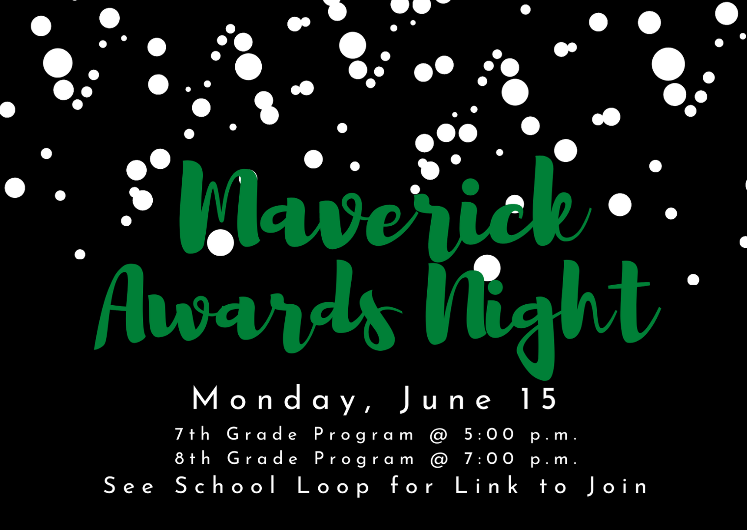 Save June 15 for Maverick Awards Night