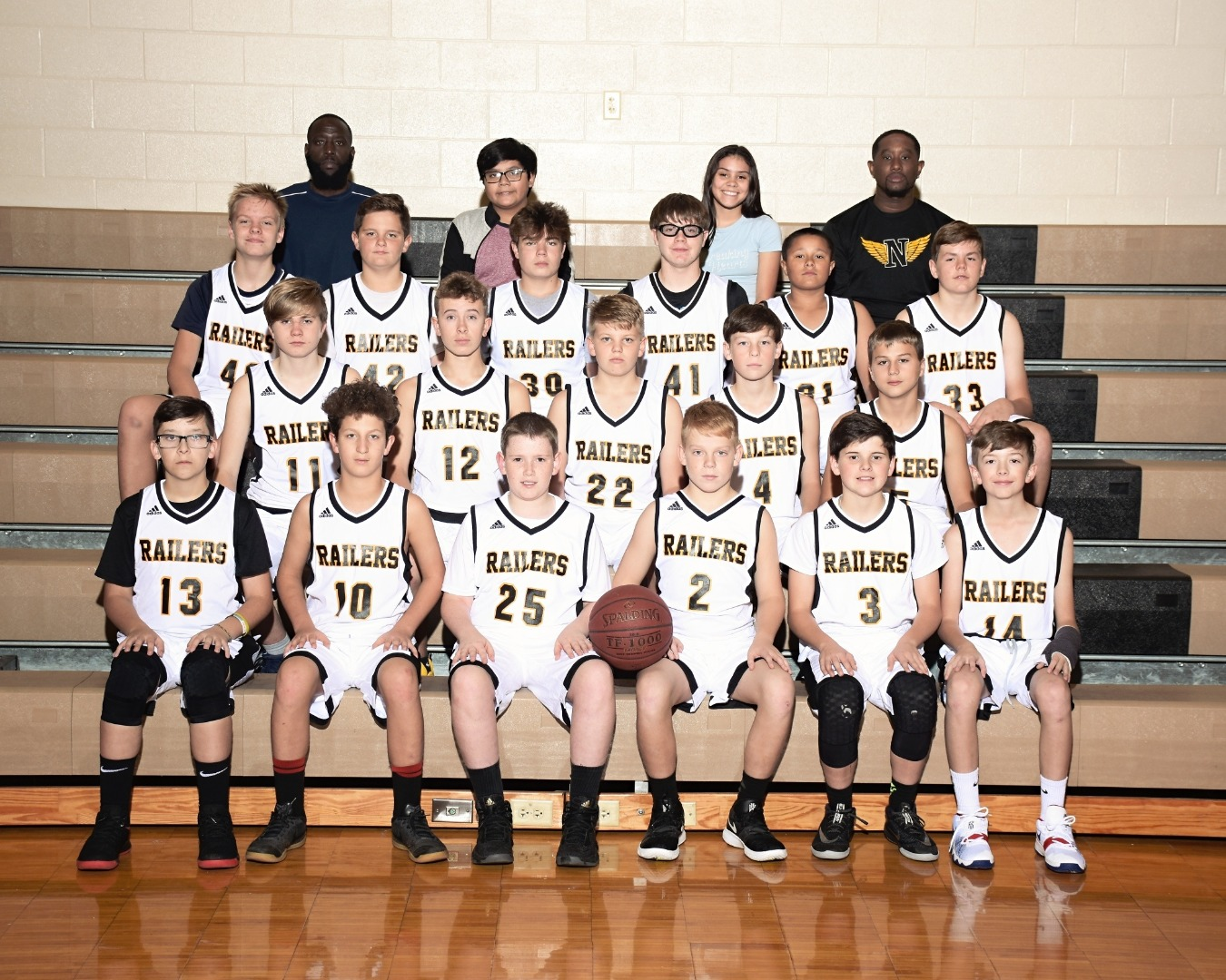 7th Grade boys team picture