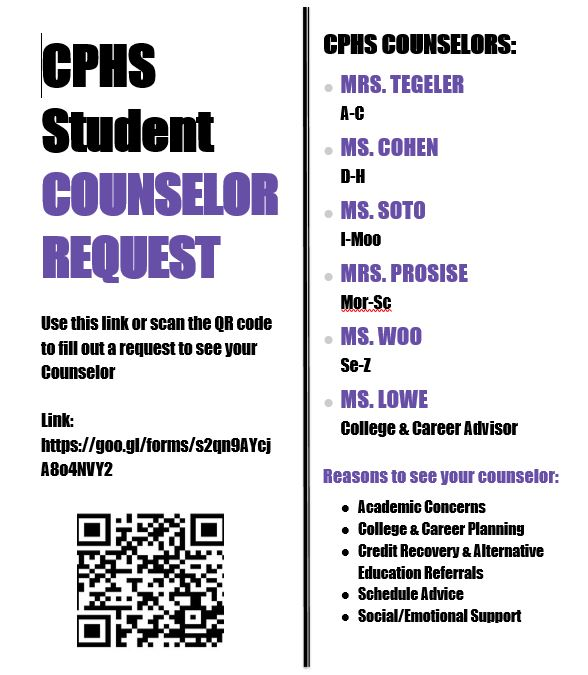 Counselor Request