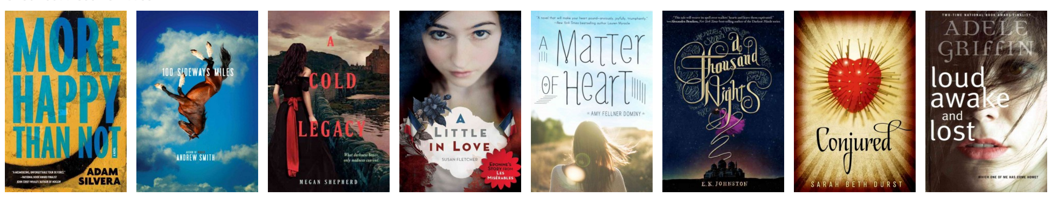 Contra Costa Library Best YA Books List