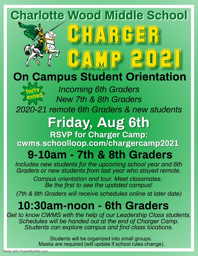 Charger Camp 21-22