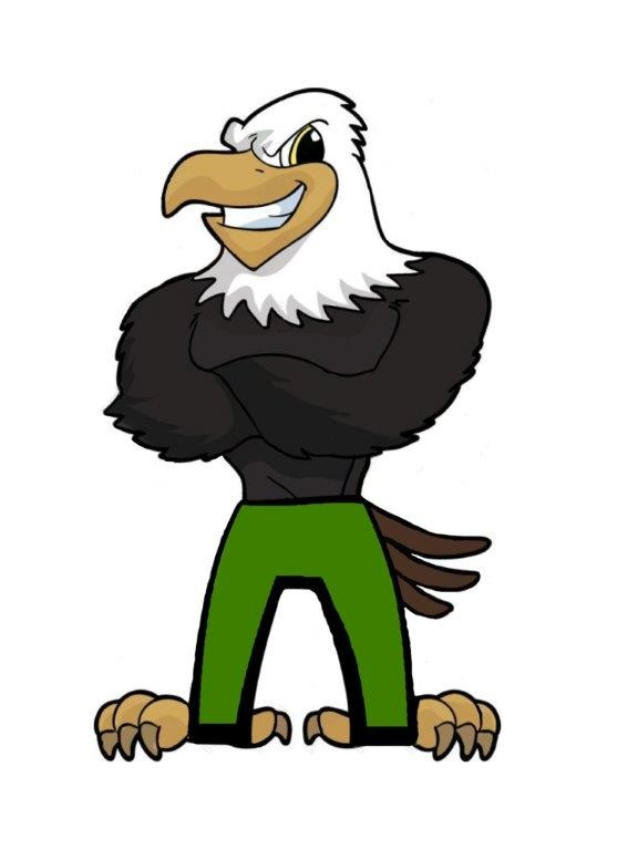 Olive View Mascot, the Eagle