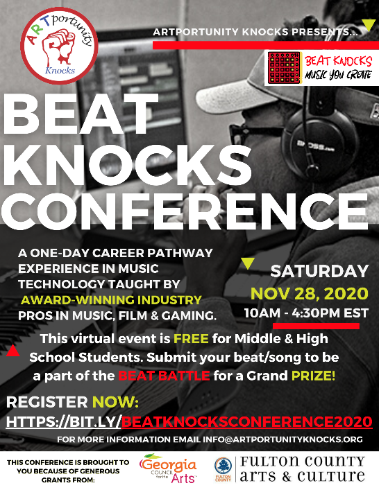 Music Technology Opportunity for Middle/High School Students