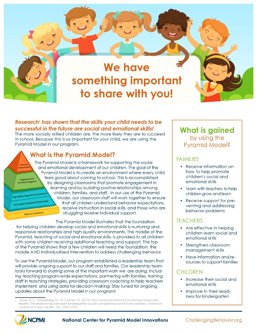 Pyramid Model Family Fact Sheet