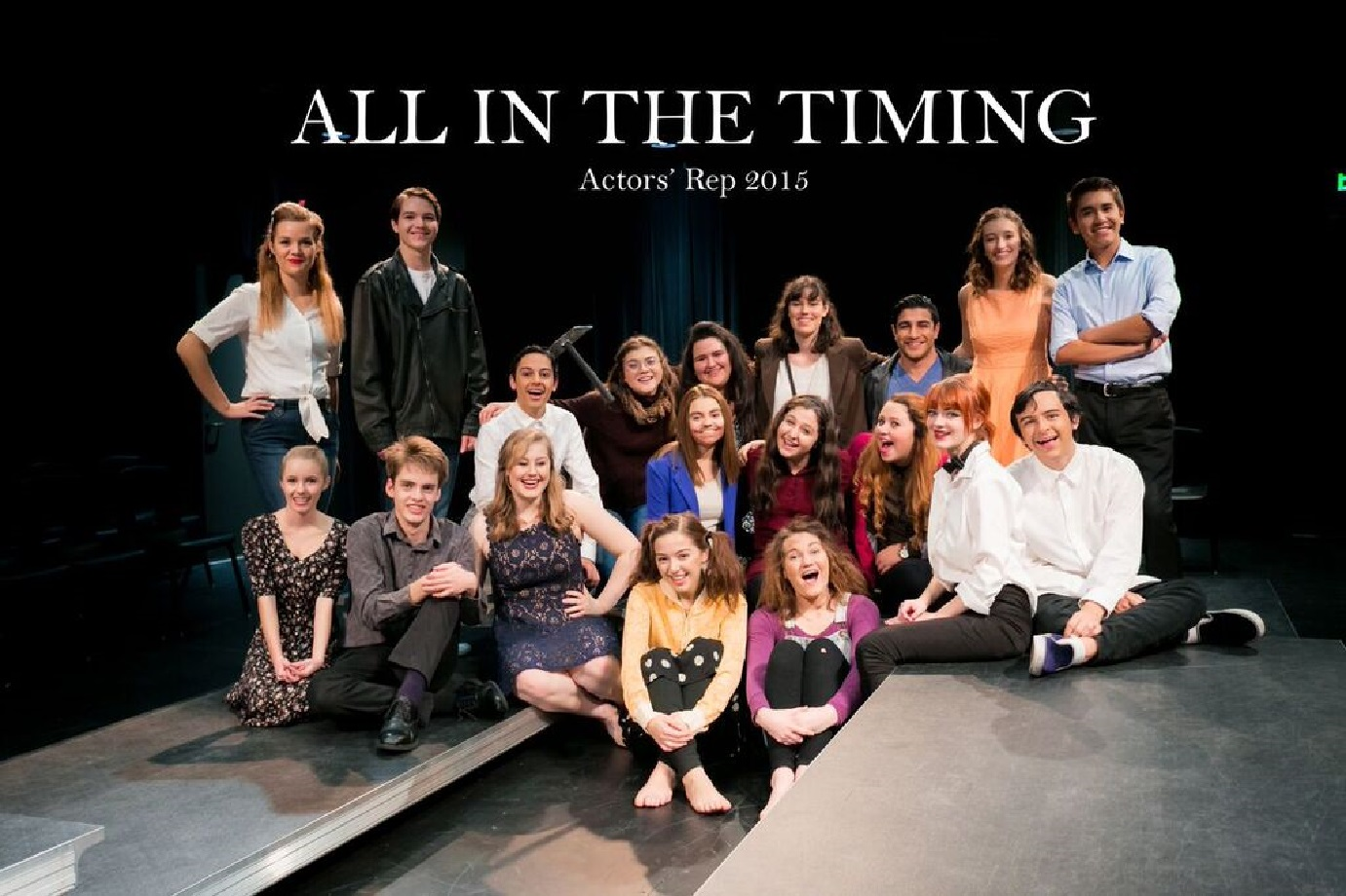 All in the Timing Cast Photo
