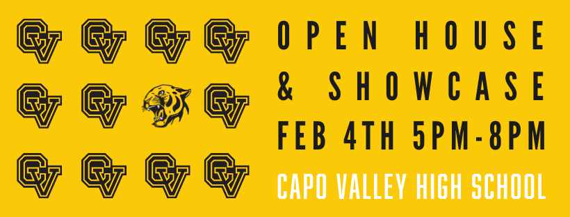 Open House & Showcase - Feb. 4th, 2020
