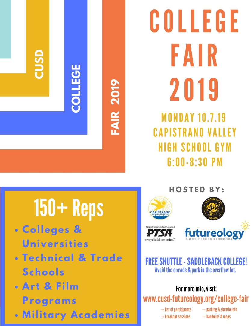 College Fair Flier