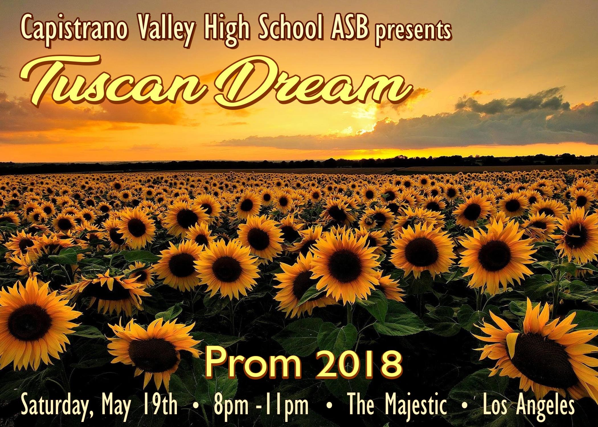 Prom 2018 Poster