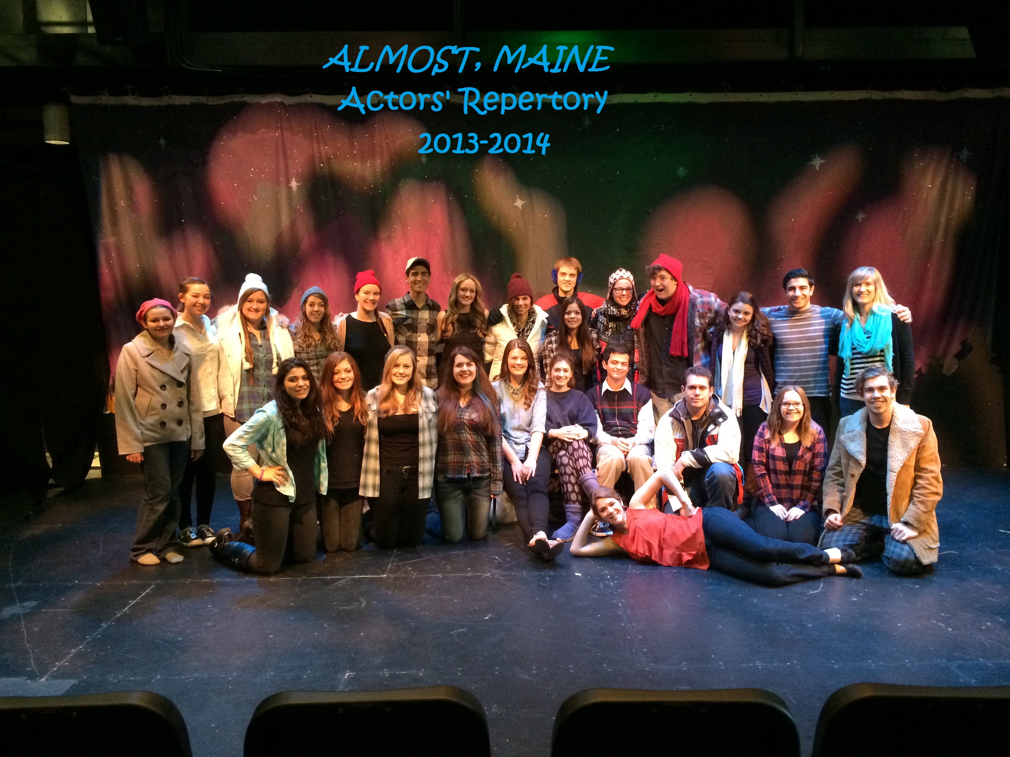 Almost, Maine by Jon Cariani, Winter 2014