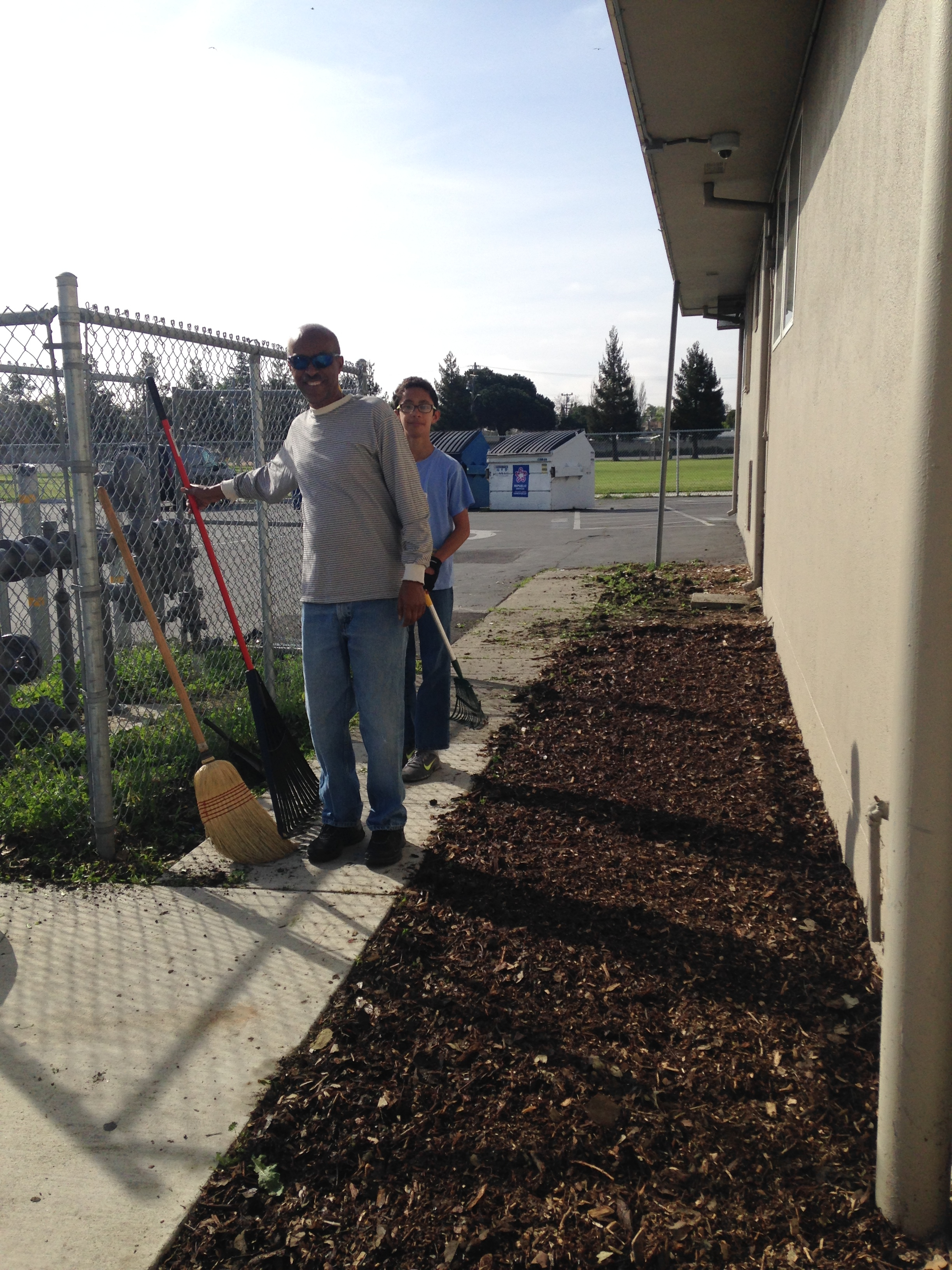 Beautification Day at Cesar Chavez