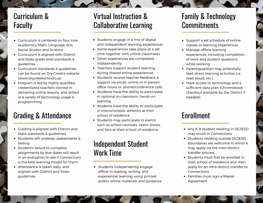 Connections Brochure