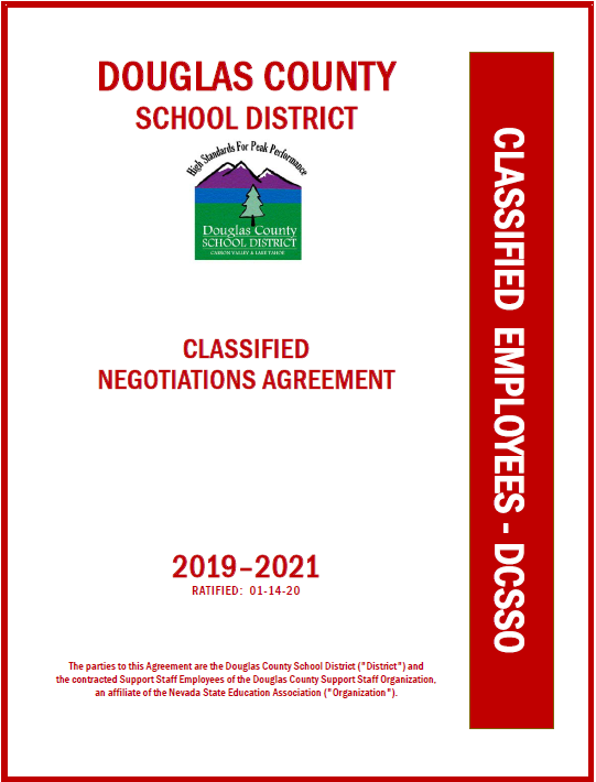 Classified Negotiated Agreement