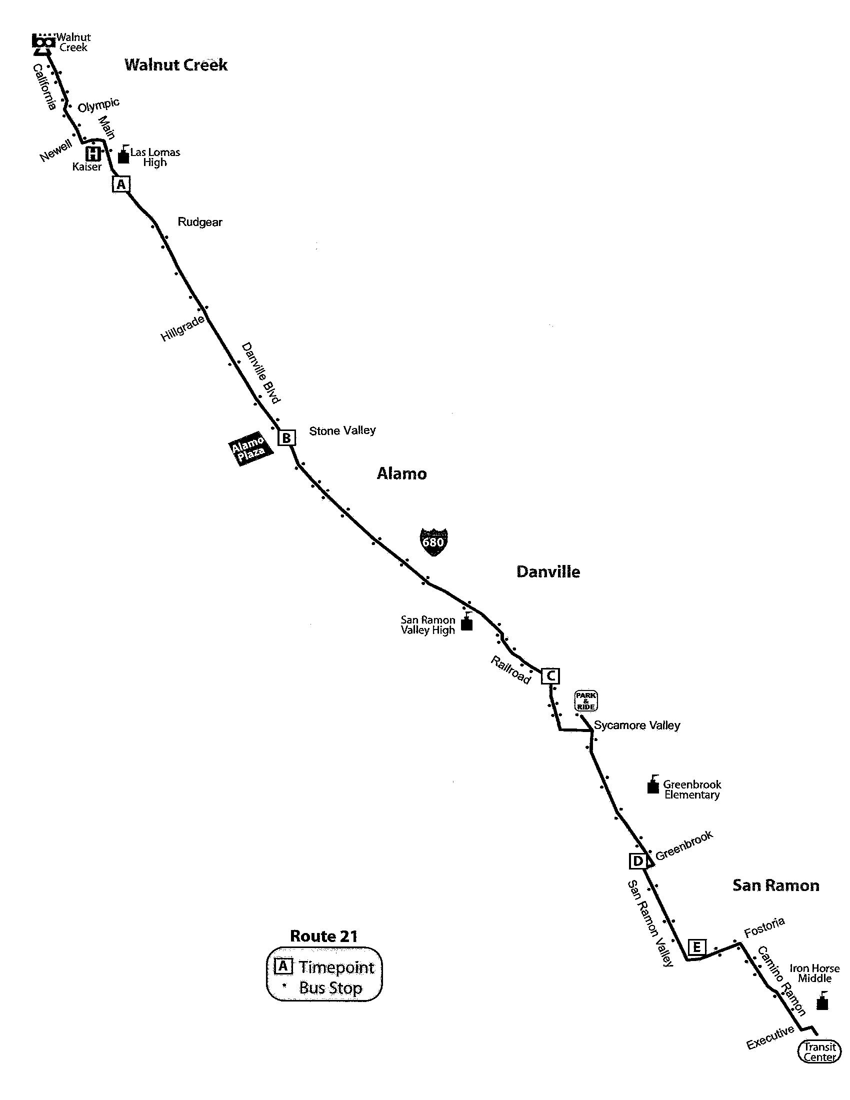 21 Route