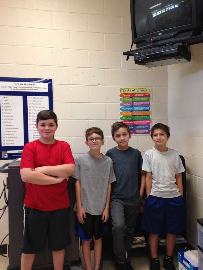 Students Earn Dress Down Day