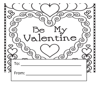 Sample of Candy Gram Card