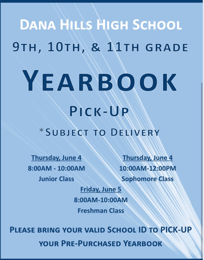 Yearbook Pick-Up