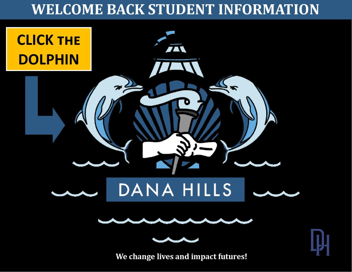 Welcome Back Student Information