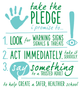 Say Something, Take the Pledge