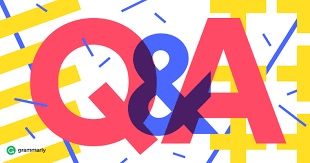 graphic of Q & A