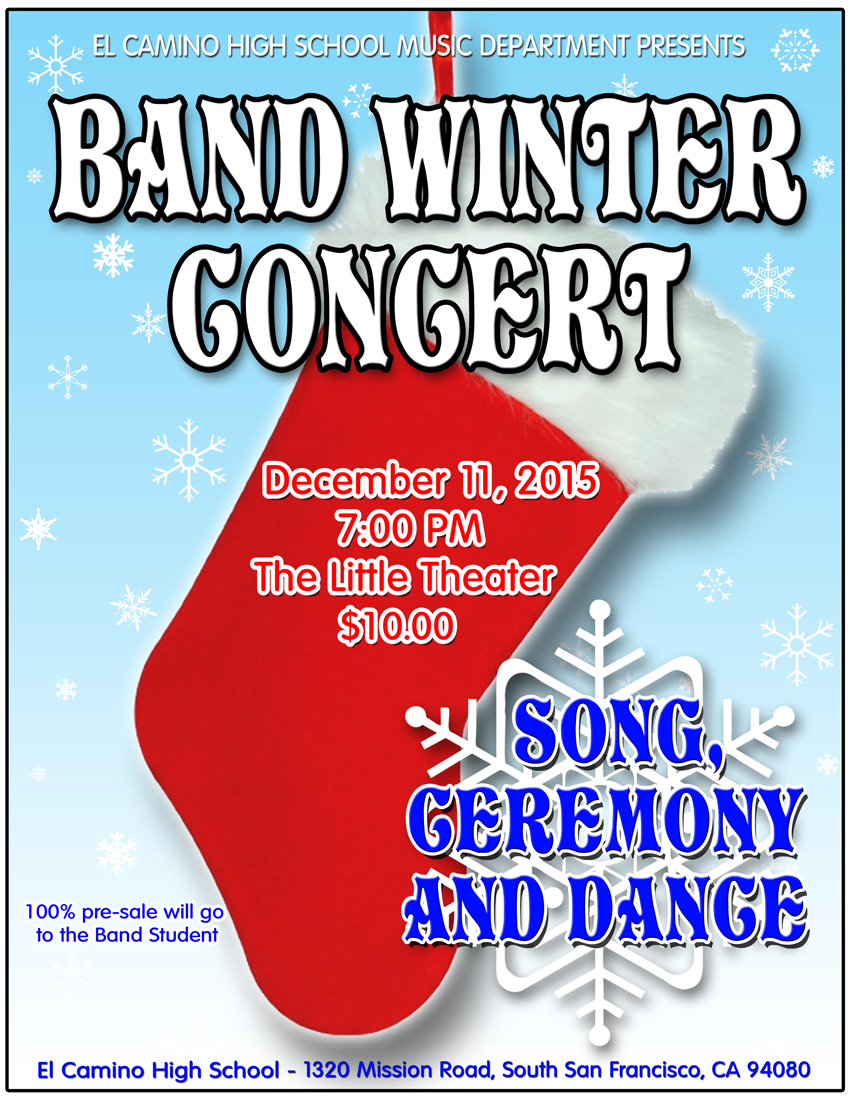 Band Winter Concert: Song, Ceremony and Dance