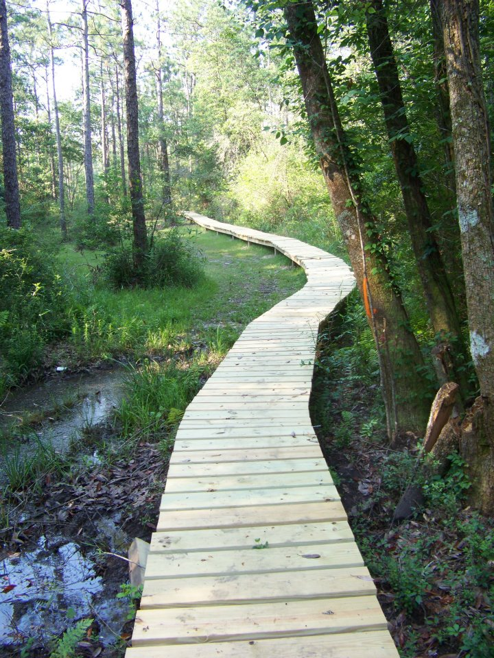 boardwalk at RHEC