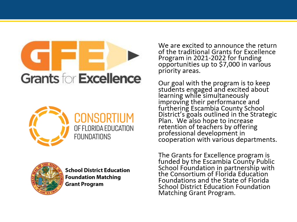 Grants for Excellence