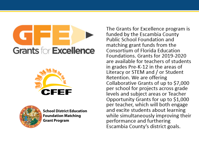 Grants for Excellence Descrption