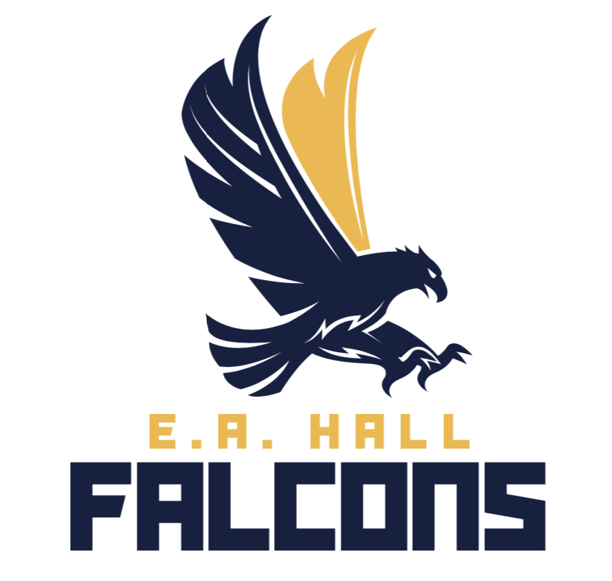 EA Hall Falcons Mascot