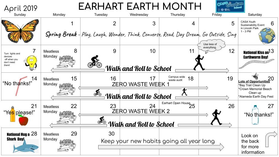 Earhart Earth Month