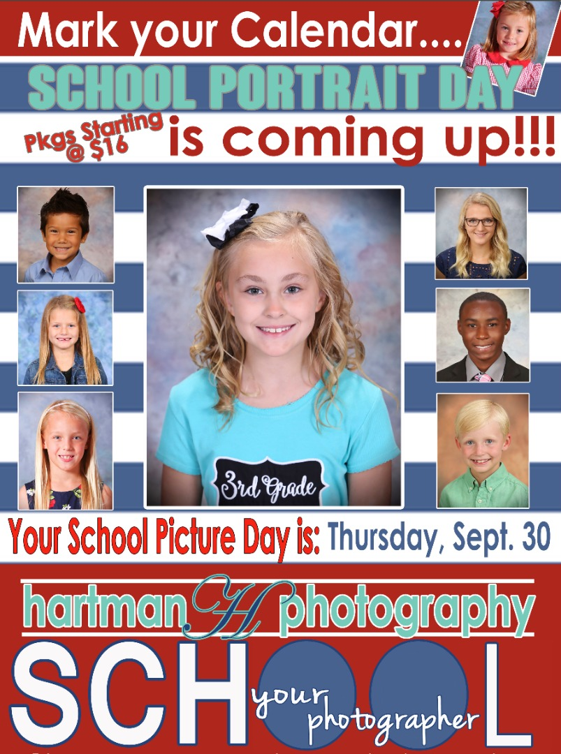 Picture day is Sept. 20, 2021.