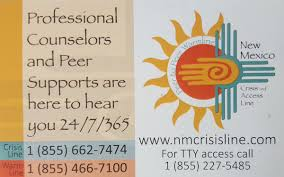 Counselor and peer support hotline: 1-855-662-7474