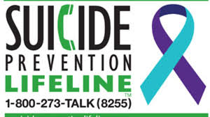 Phone number for suicide prevention: 1-800-273-8255