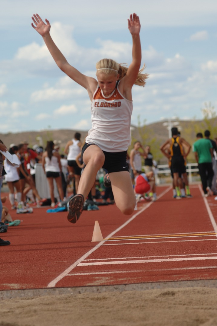 Girls Track Hurdle Photo