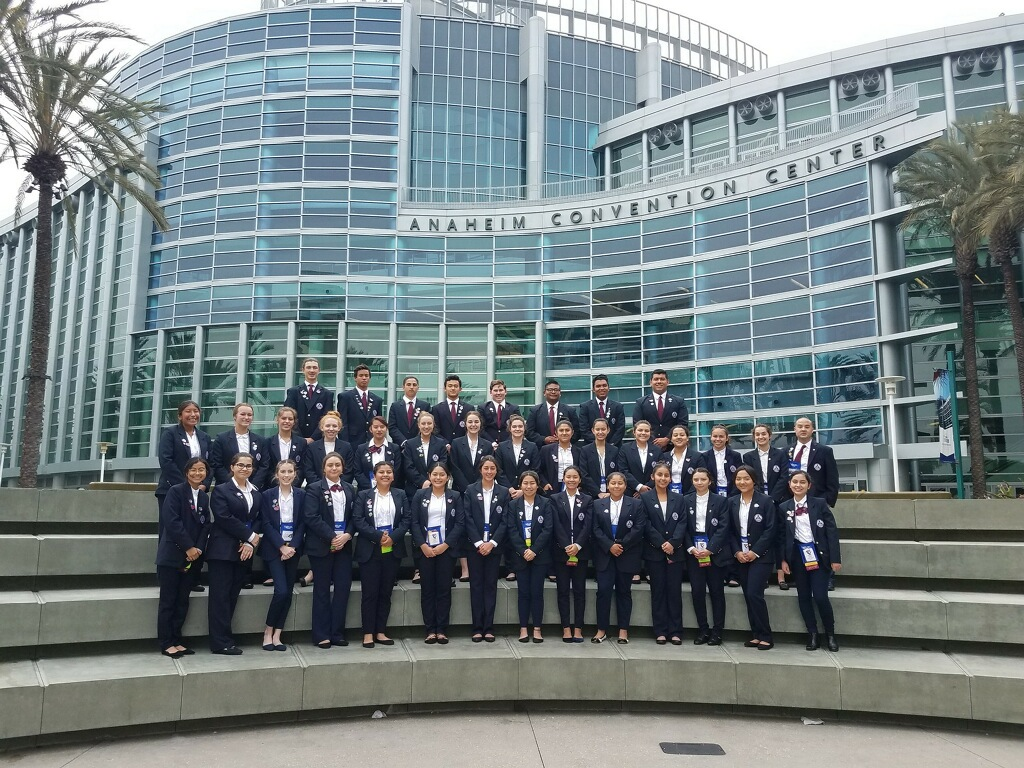 HOSA Competition in Anaheim