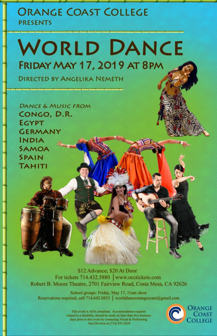 World Dance Celebration Flyer
