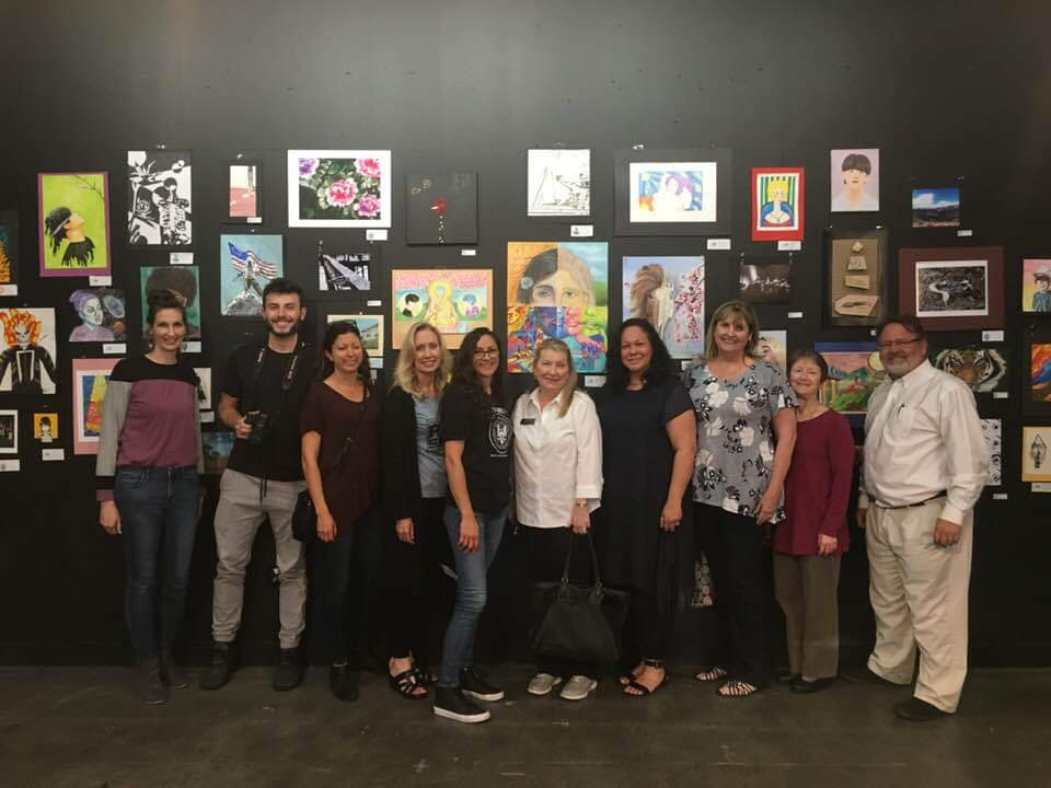 Picture of Art Teachers in the NMUSD District