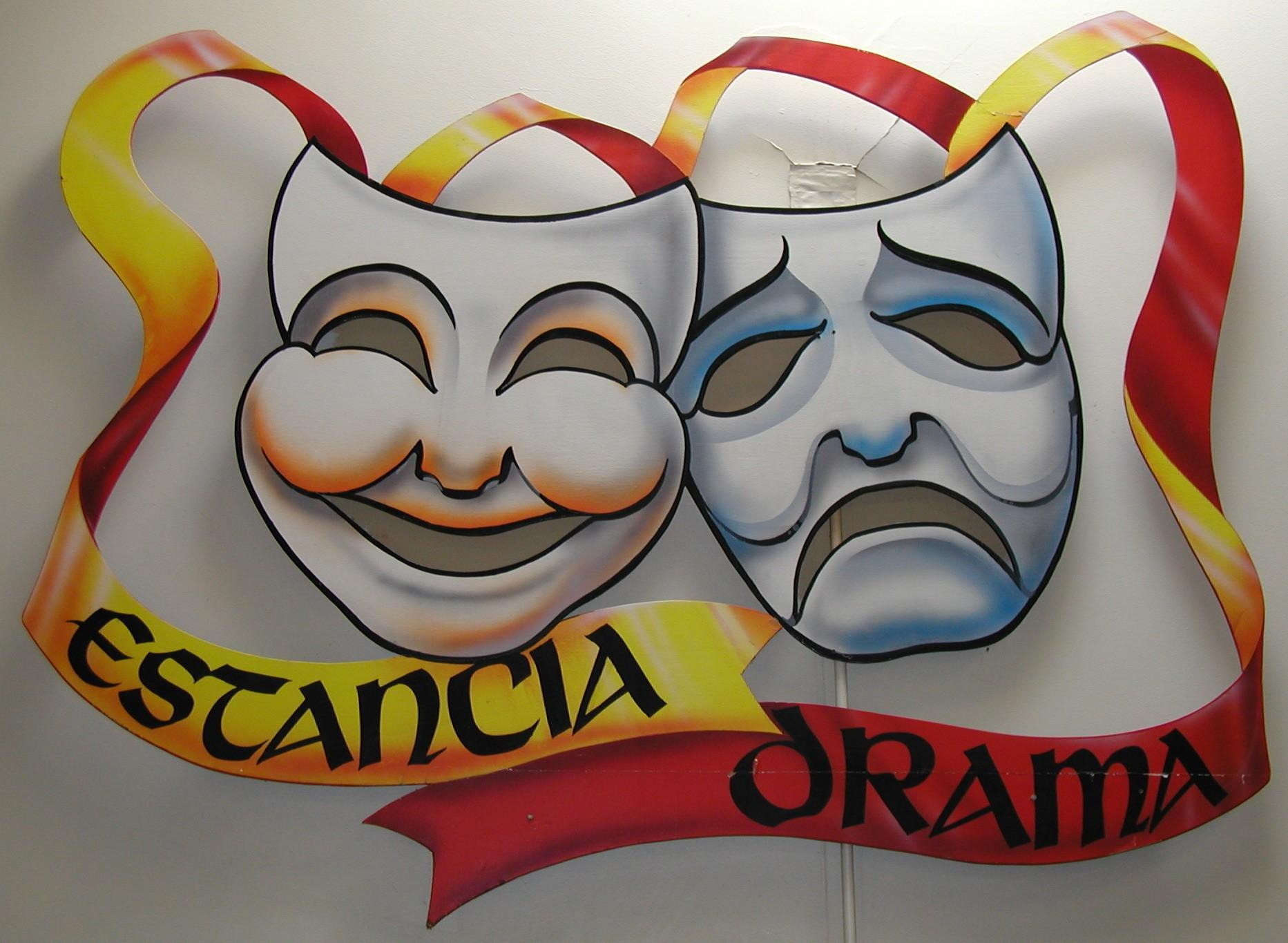 Image of Comedy and Tragedy Masks