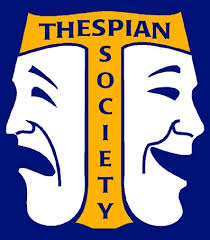 picture of comedy  tragedy mask - thespian society symbol