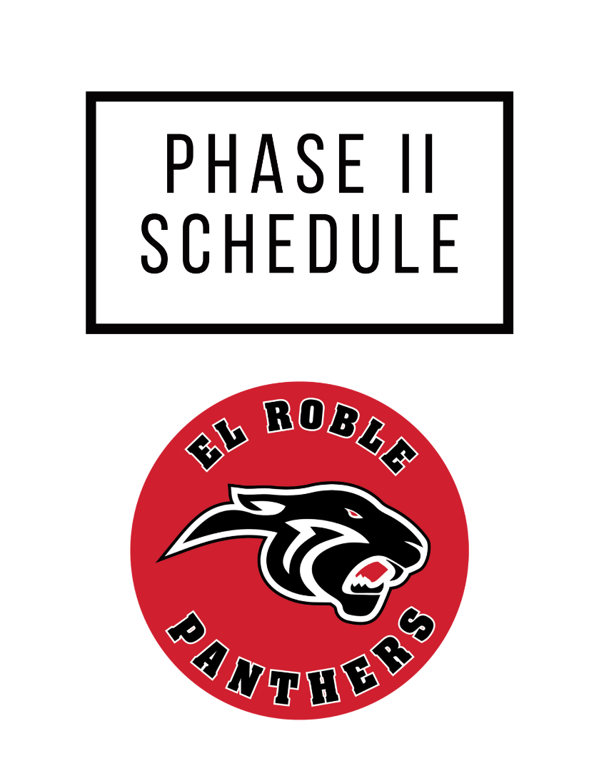 Phase II Schedule