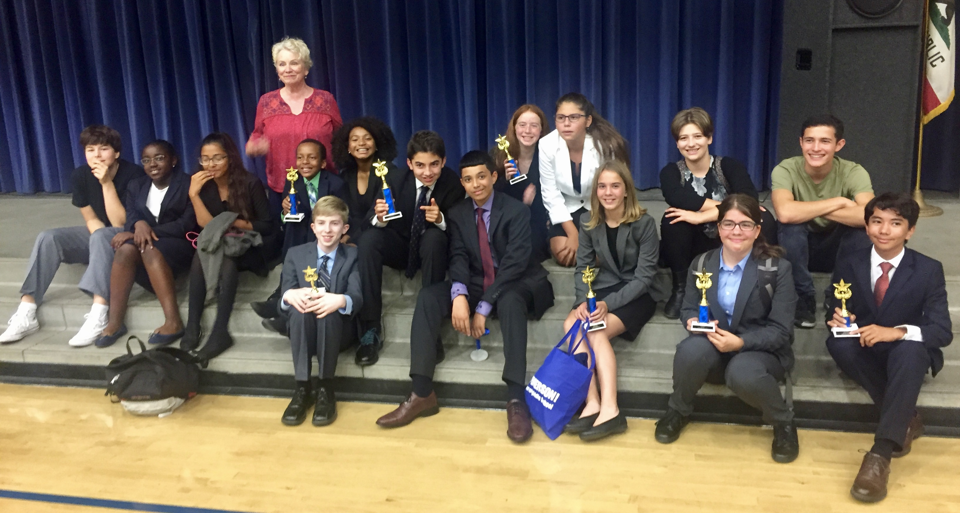 After T-1 awards at Jefferson MS