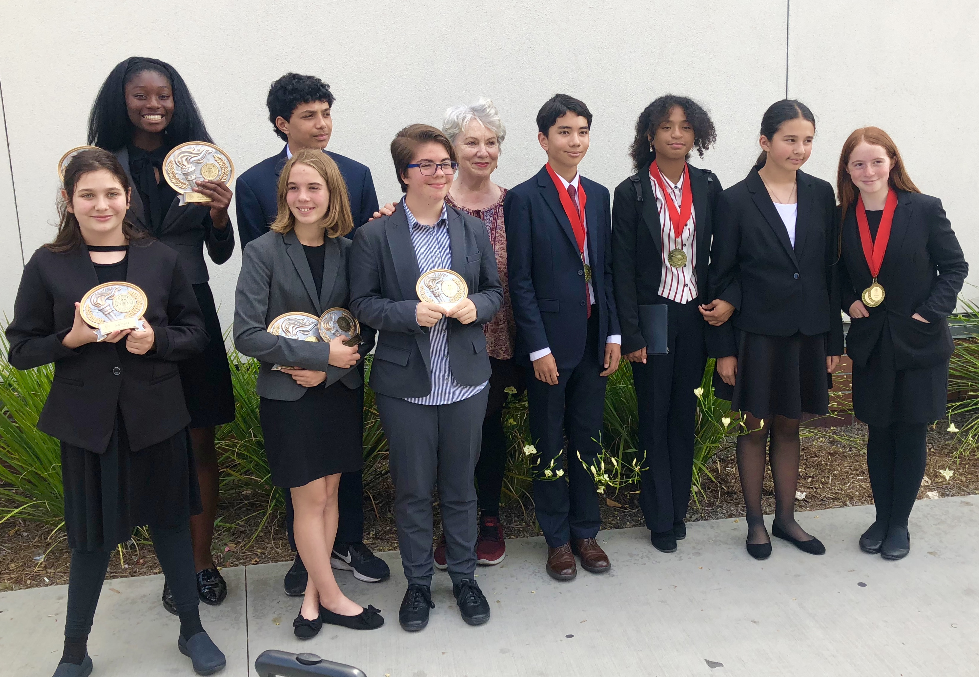 Emerson soars in State Competition May 2017-18