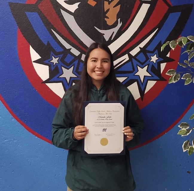 Mariah Hernandez Fitch receives All State Girls Soccer